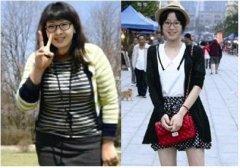 为爱狂瘦身 胖妞两个月猛甩30斤