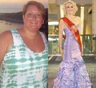 """美国减肥""""年度女神""""1年瘦107斤"""