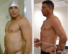 罗纳尔多减肥成功 上真人秀直播