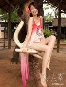 戚薇瘦腿术 揭大象腿消失的秘密